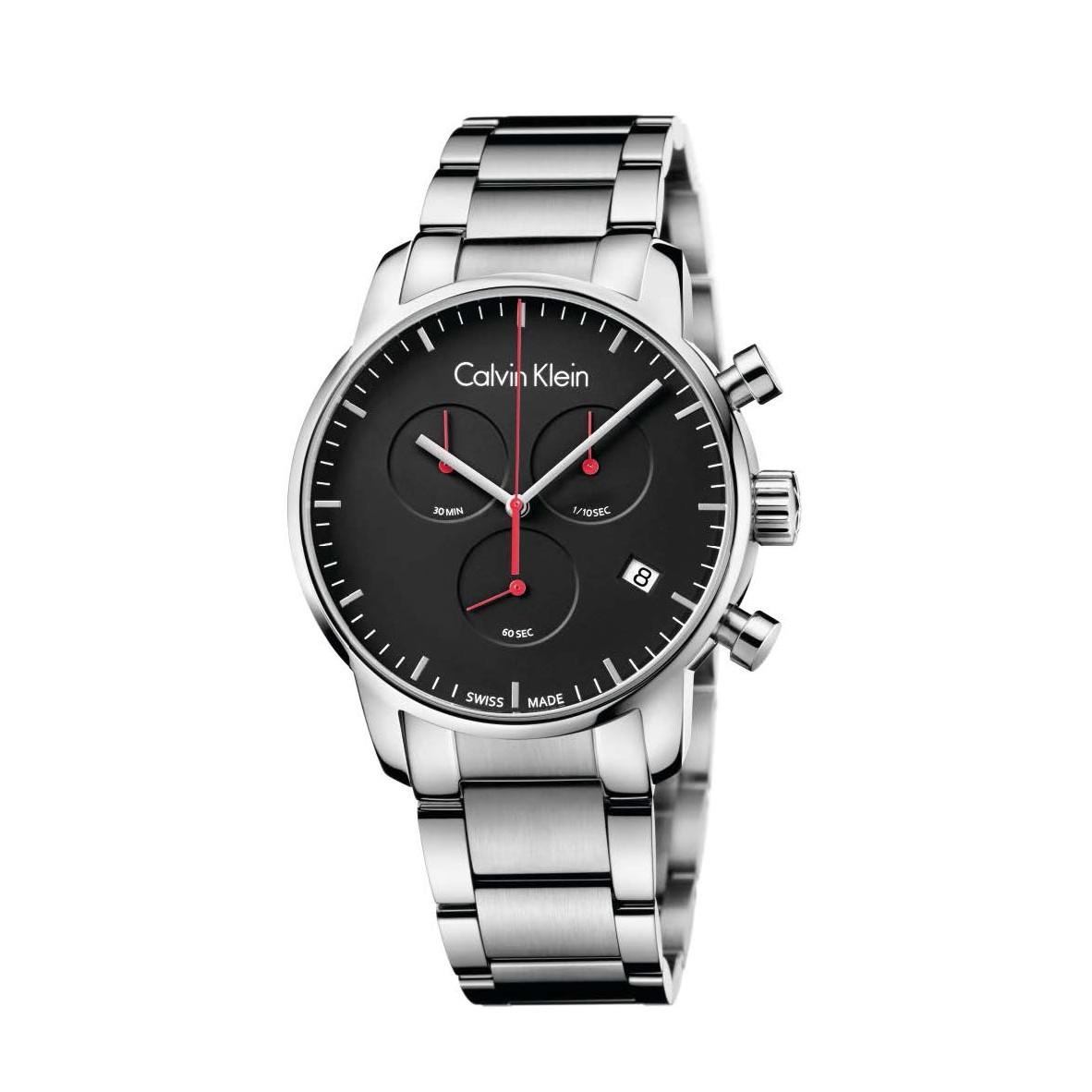 Đồng hồ Calvin Klein K2G27141 Nam 43mm, Quartz (Pin), Thép không gỉ