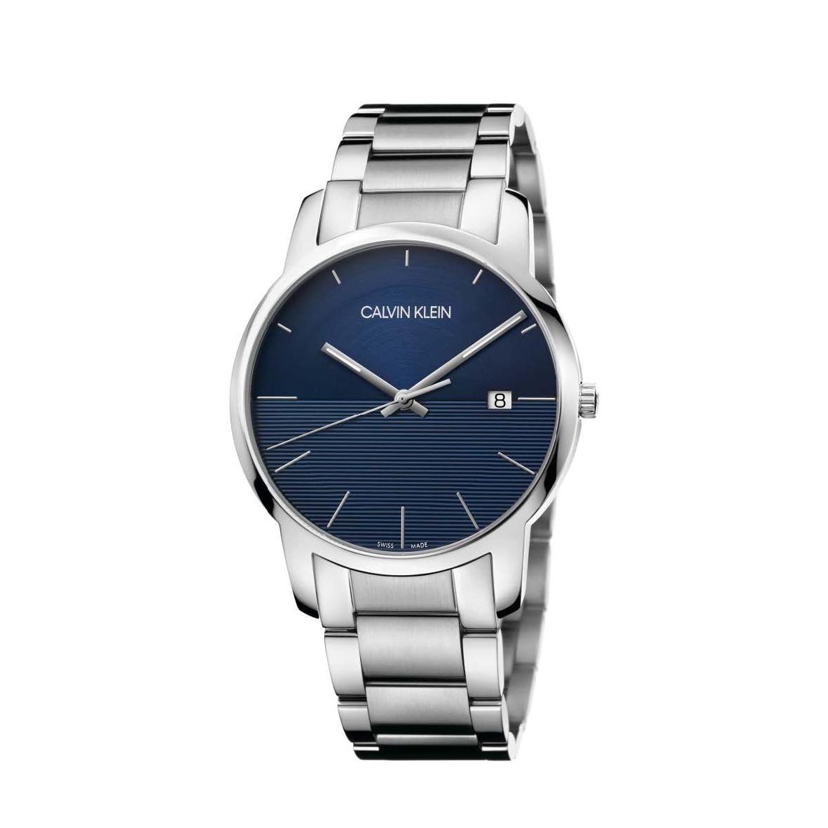 Đồng hồ Calvin Klein K2G2G14Q Nam 43mm, Quartz (Pin), Thép không gỉ
