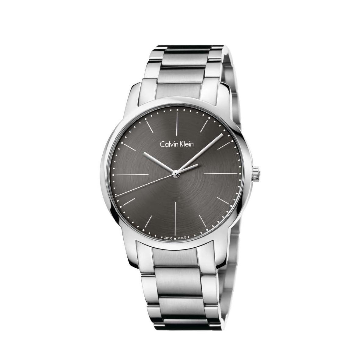 Đồng hồ Calvin Klein K2G2G1Z3 Nam 43mm, Quartz (Pin), Thép không gỉ