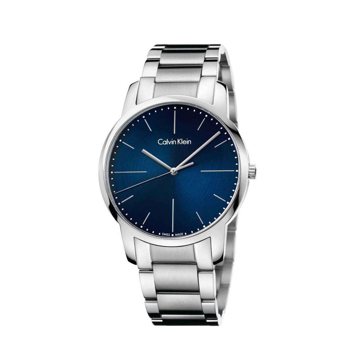 Đồng hồ Calvin Klein K2G2G1ZN Nam 43mm, Quartz (Pin), Thép không gỉ