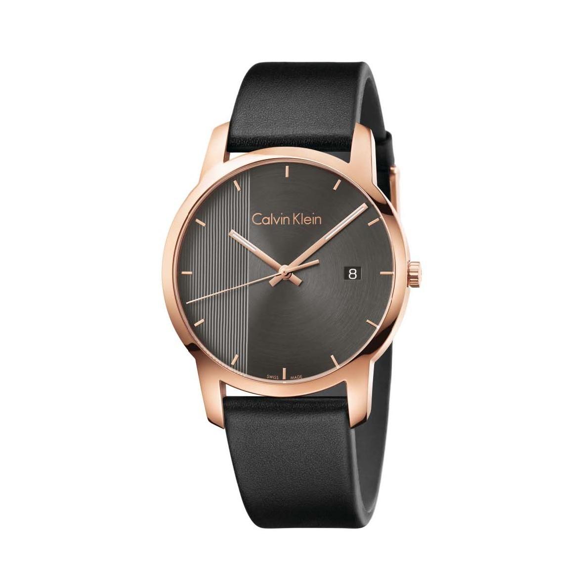 Đồng hồ Calvin Klein K2G2G6C3 Nam 43mm, Quartz (Pin), Thép không gỉ, mạ PVD