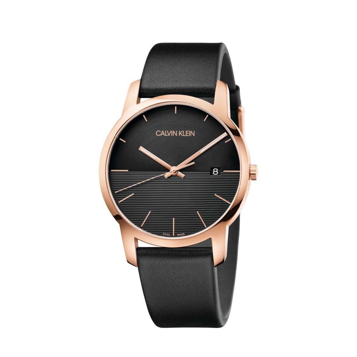 Đồng hồ Calvin Klein K2G2G6CZ Nam 43mm, Quartz (Pin), Thép không gỉ, mạ PVD