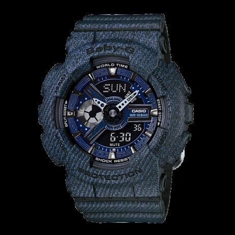 Đồng hồ CASIO BA-110DC-2A1DR Nữ 43.4mm, Pin ( Quartz) Nhựa