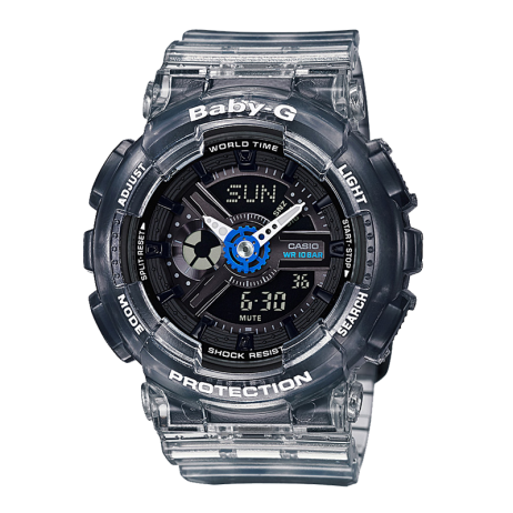 Đồng hồ CASIO BA-110JM-1ADR Nữ 43.4mm, Pin ( Quartz) Nhựa