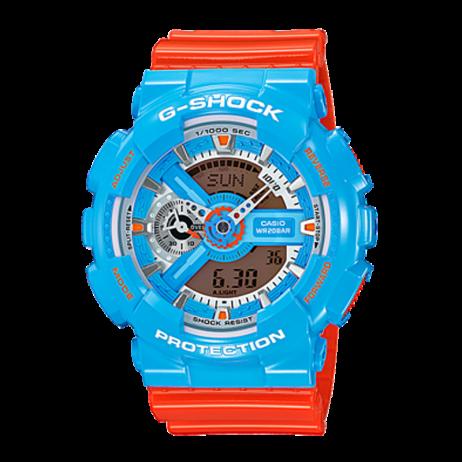Đồng hồ CASIO BA-110NC-2ADR Nữ 43.4mm, Pin ( Quartz) Nhựa
