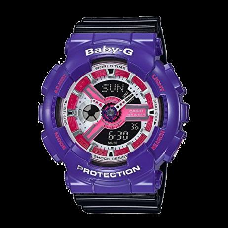 Đồng hồ CASIO BA-110NC-6ADR Nữ 43.4mm, Pin ( Quartz) Nhựa