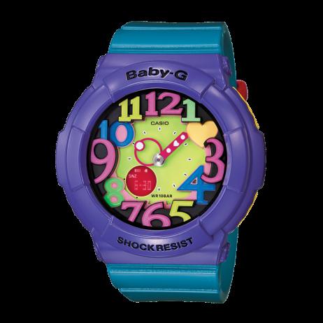 Đồng hồ CASIO BGA-131-6BDR Nữ 43.1mm, Pin ( Quartz) Nhựa