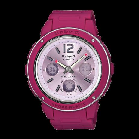 Đồng hồ CASIO BGA-150-4BDR Nữ 42.8mm, Pin ( Quartz) Nhựa