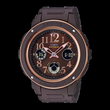 Đồng hồ CASIO BGA-150PG-5B2DR Nữ 42.8mm, Pin ( Quartz) Nhựa