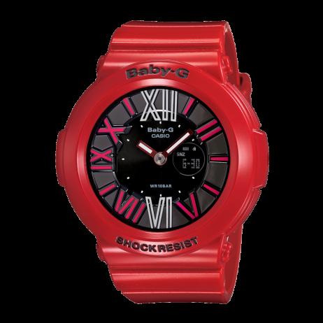 Đồng hồ CASIO BGA-160-4BDR Nữ 42.8mm, Pin ( Quartz) Nhựa