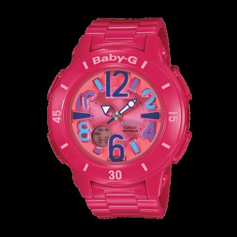 Đồng hồ CASIO BGA-171-4B1DR Nữ 42.8mm, Pin ( Quartz) Nhựa