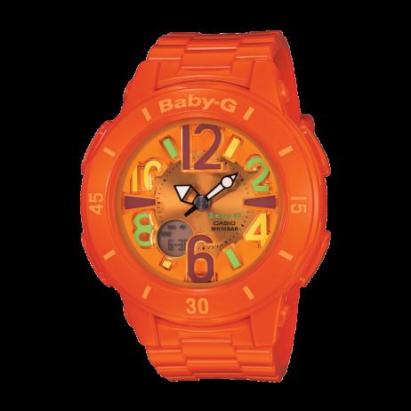 Đồng hồ CASIO BGA-171-4B2DR Nữ 42.8mm, Pin ( Quartz) Nhựa