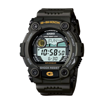 CASIO G-7900-3DR Nam 50mm, Quartz (Pin), Dây Nhựa