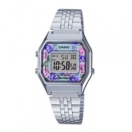 Đồng hồ CASIO LA680WA-2CDF Nữ 33.5 x 28.6mm, Pin ( Quartz) Thép không gỉ